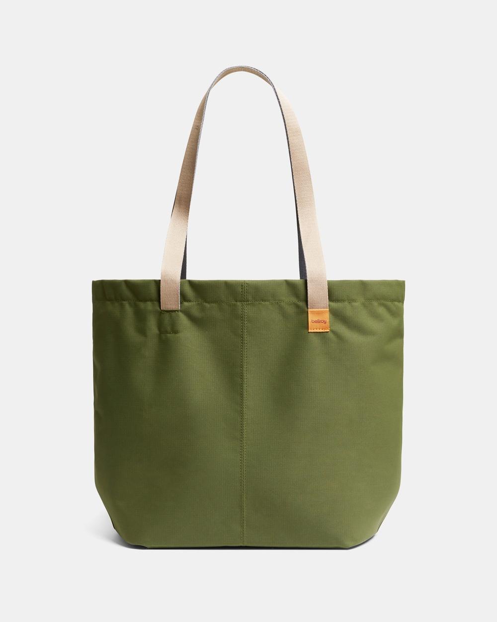 Bellroy Market Tote Beach Bags green