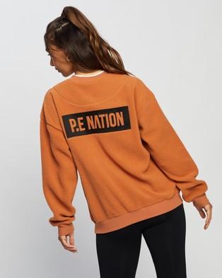 P.E Nation Set Shot Sweat - Sweats (Brown)