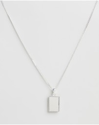 Chained & Able - Sterling Silver Diamond Cut Tag