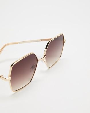 MINKPINK Leni - Sunglasses (Gold)