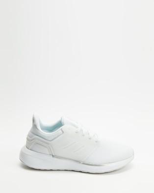 adidas Performance - EQ19 Run   Women's - Performance Shoes (FTWR White, FTWR White & Silver Metallic) EQ19 Run - Women's