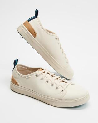 TOMS TRVL Lite Low   Women's - Sneakers (Birch Canvas)