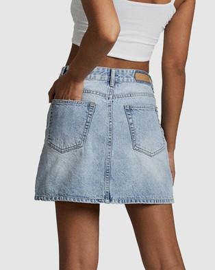 Cotton On The Classic Denim Skirt - Denim skirts (Burleigh Blue)