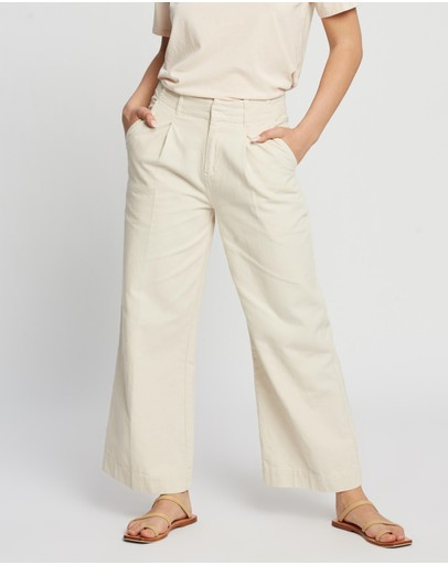 Assembly Label - Wide Leg Canvas Pants