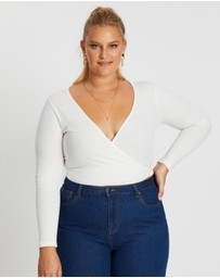 Mika Muse - Muse Long Sleeve Wrap Top
