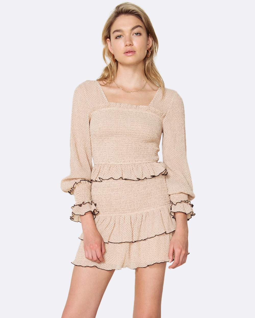 The East Order Chloe Top Tops Nude Chloe Top