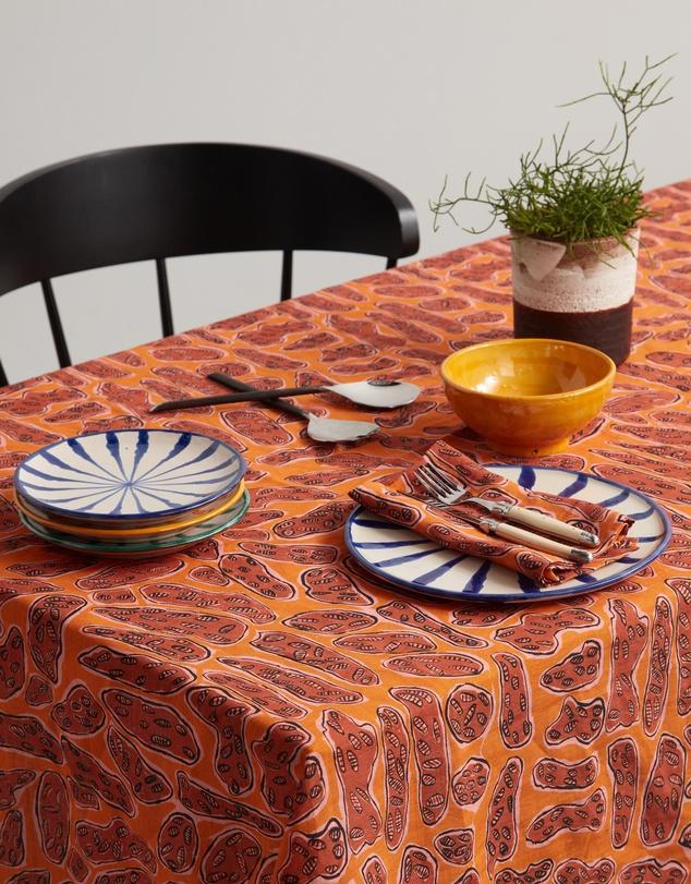 Life Ngarduk Kunred Linen Tablecloth