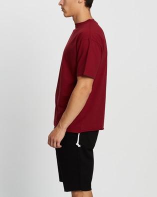 Commune Comm Tee - T-Shirts & Singlets (Wine)