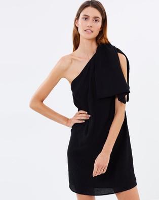 Friend of Audrey – Kacie Bow Dress Black
