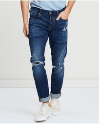Scotch & Soda - Ralston Plus Double Game Regular Slim Fit Jeans