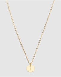 Dear Addison - Initial I Letter Necklace