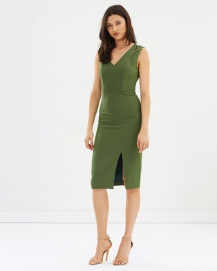 Grace Willow – Fontaine Dress Fennel