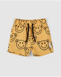 Huxbaby - Smiley Swim Shorts - Babies-Kids