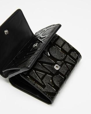 Armani Exchange Mini Wallet   Women's - Wallets (Black)