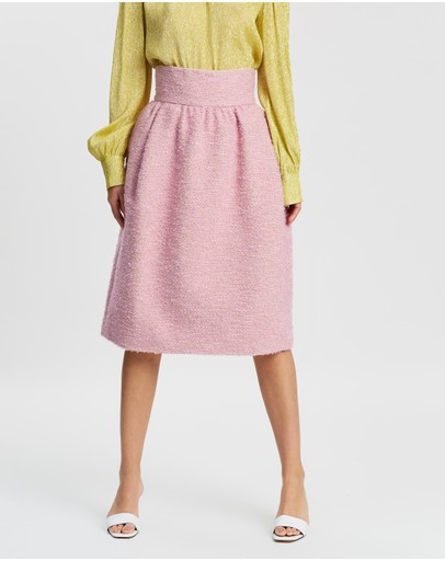 Marc Jacobs High-waisted Skirt Pink