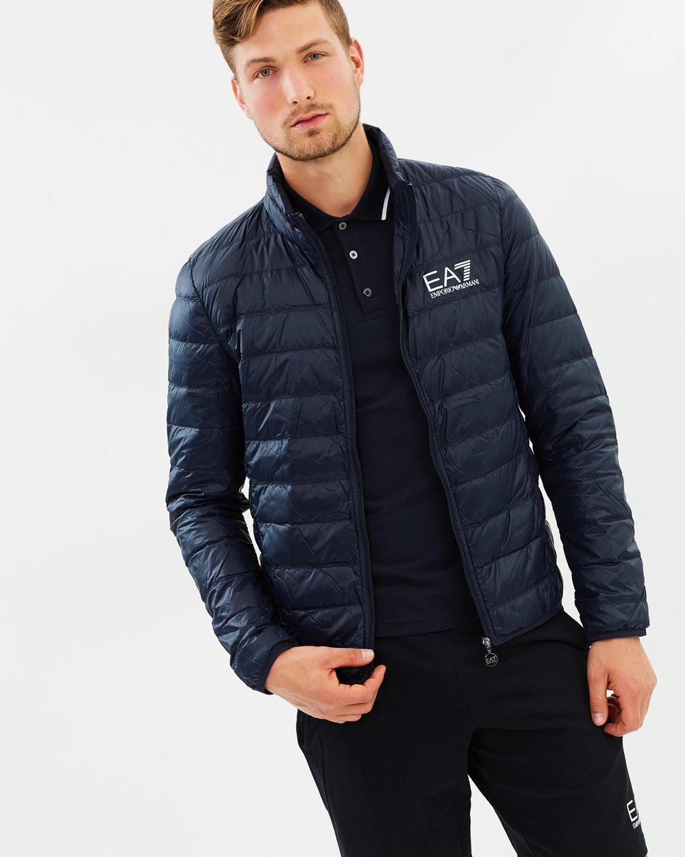 a0d1703ee792 Lightweight Down Jacket by Emporio Armani EA7 Online   THE ICONIC    Australia