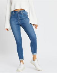 Articles of Society - High Lisa Ankle Hug Jeans