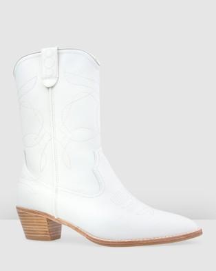 Bared Footwear - Tinkerbird Flat Boots Women's (White)