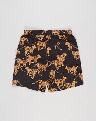 Free by Cotton On Kip & Co Bailey Boardshorts   Teens - Swimwear (Kip Cheetah)