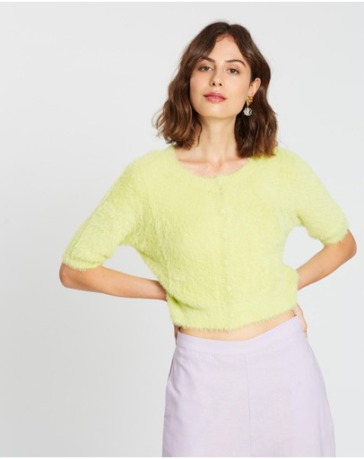 Charlie Holiday Lily Knit Green Envy