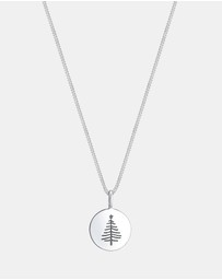 Elli Jewelry - Necklace Christmas Tree 925 Sterling Silver