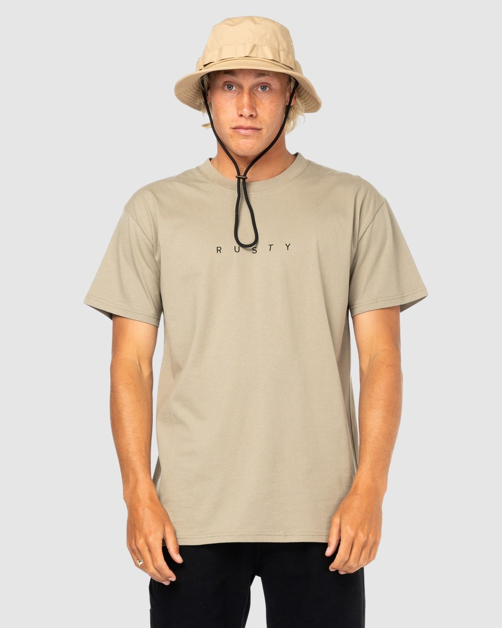 Rusty Short Cut Sleeve Tee T-Shirts CVG Australia
