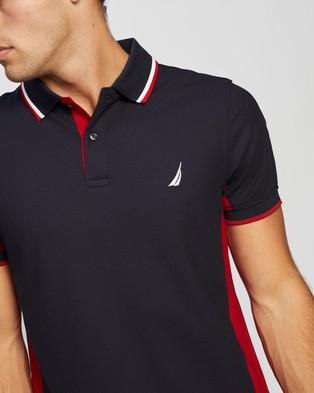 NAUTICA Navtech Slim Fit Polo - Shirts & Polos (Navy)