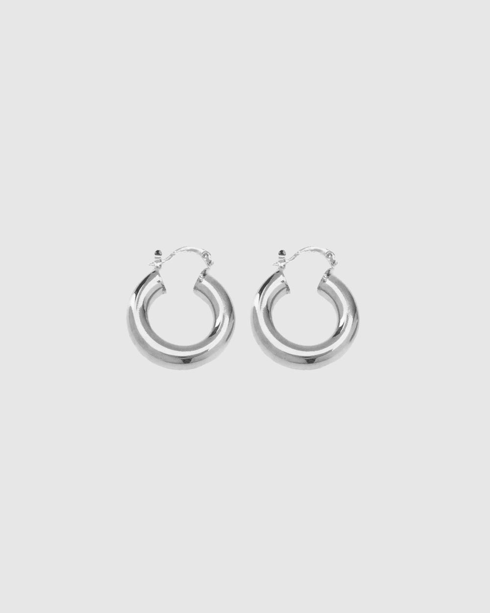 ALIX YANG Arlo Hoops Jewellery Silver