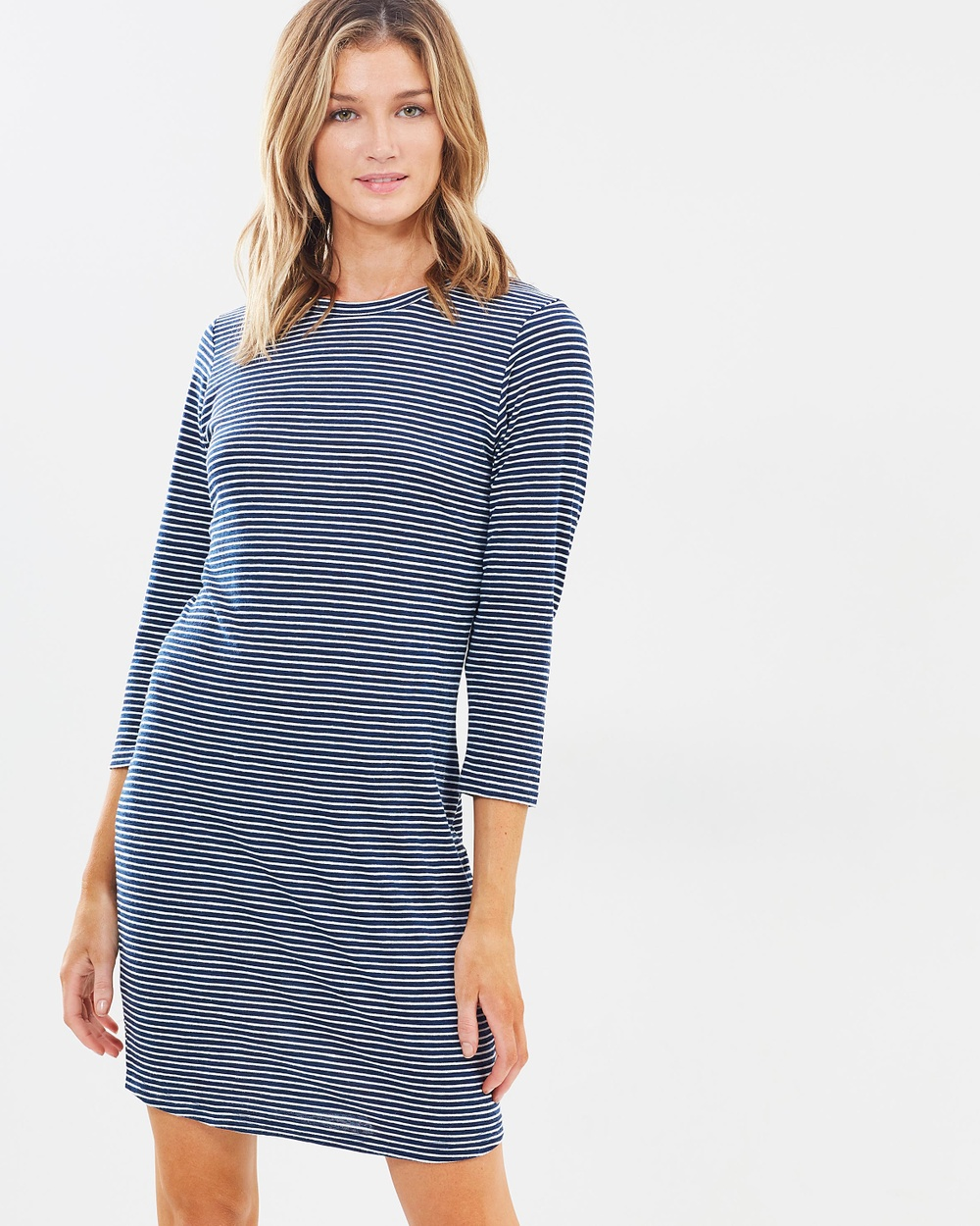 Nude Lucy Dacey Stripe Dress Dresses Navy Stripe Dacey Stripe Dress