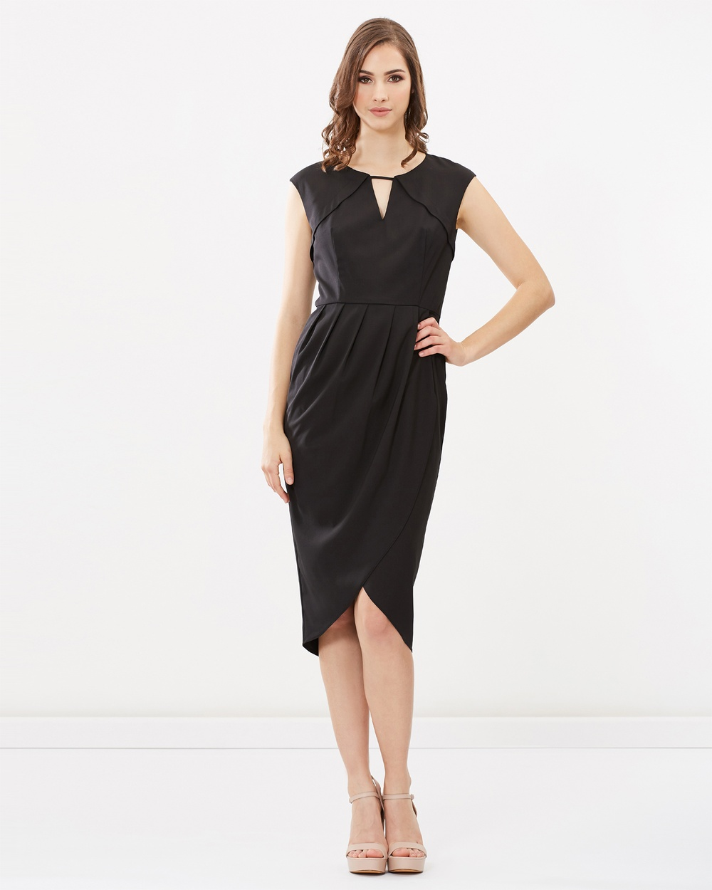 Pink Ruby Seabreeze Cut Out Dress Dresses Black Seabreeze Cut-Out Dress