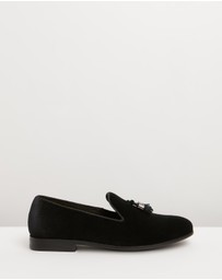 Double Oak Mills - Jeremy Velvet Loafers