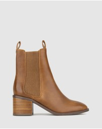 Betts - Luxe Block Heel Ankle Boots