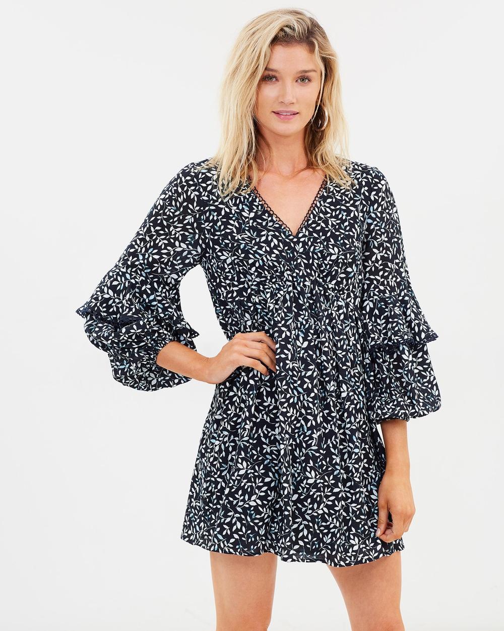Steele Kasia Dress Printed Dresses Dark Willow Kasia Dress