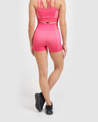 Core Trainer Lulu Shorts - Sports Tights (Pink)