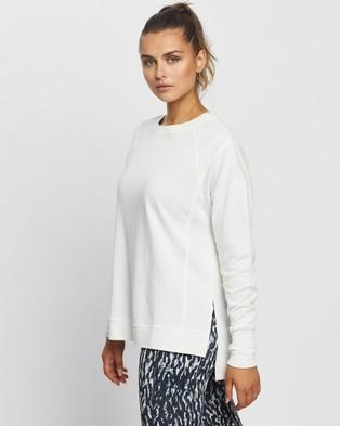 Sweaty Betty After Class Sweatshirt - Sweats (White)