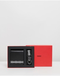 HUGO - Wallet & Keyring Gift Set