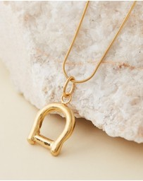 Released From Love - Horseshoe Pendant Necklace