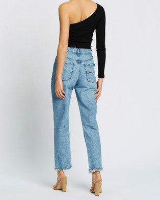 Nobody Denim Hutton Jeans - High-Waisted (Territories)