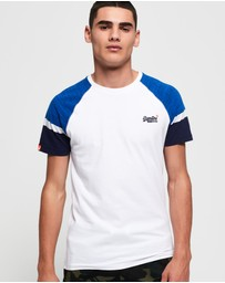 Superdry - Engineered Baseball Short Sleeve T-Shirt