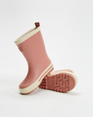 Cotton On Kids Fashion Golly Gumboots   Kids - Boots (Dusty Pink)