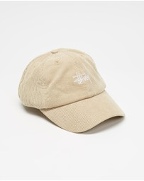 Stussy - Graffiti Corduroy Low Profile Cap