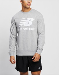 New Balance - Essentials Stacked Logo Crew