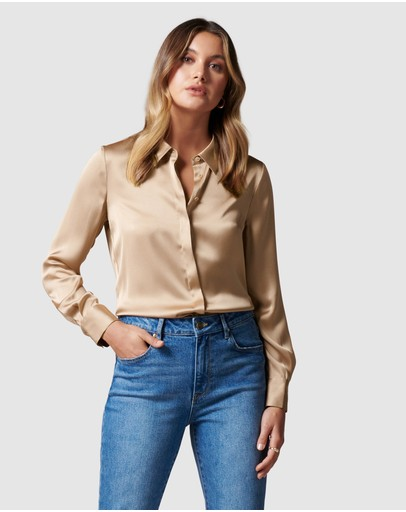 Forever New - Clara Satin Shirt