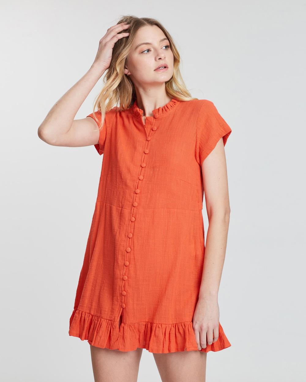 The Bare Road Aperol Ibiza Dress