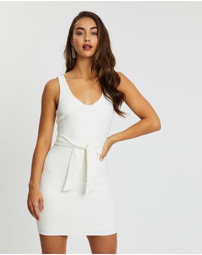 Fresh Soul Bahia Dress White