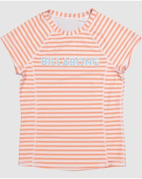 Billabong - Stoked Stripe Short Sleeve Rash Vest