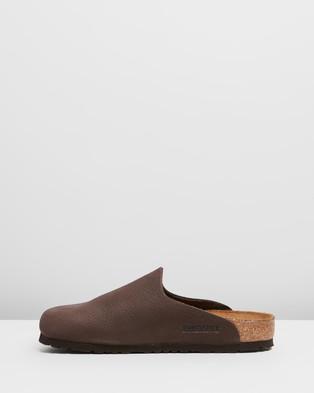 Birkenstock Amsterdam   Unisex - Casual Shoes (Chocolate)