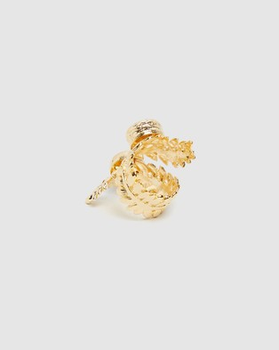 Bianc Anya Ring - Jewellery (Sterling Silver & Brass Gold Plated)