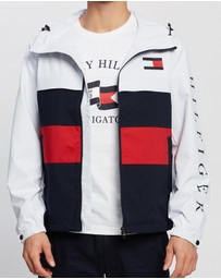 Tommy Hilfiger - Colour-Block Hooded Jacket