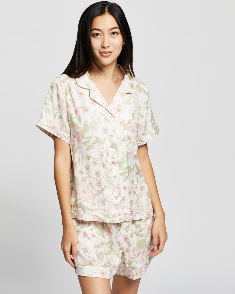 Gidget Short Sleeve PJ Set - Two-piece sets
